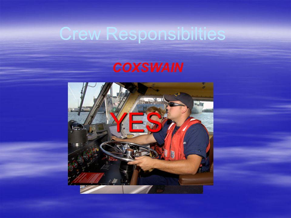 CrewResponsibilities Crew Responsibilities