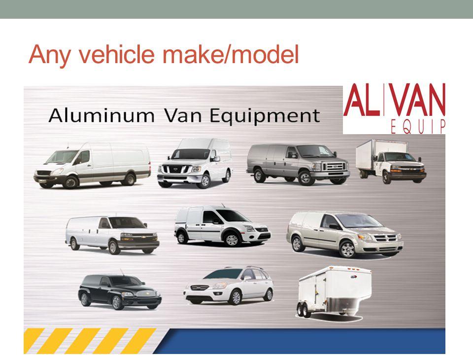 Any vehicle make/model
