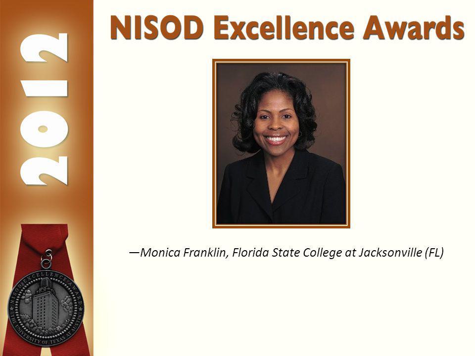 Monica Franklin, Florida State College at Jacksonville (FL)