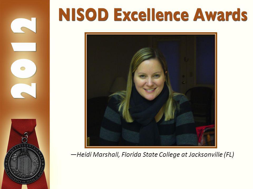 Heidi Marshall, Florida State College at Jacksonville (FL)