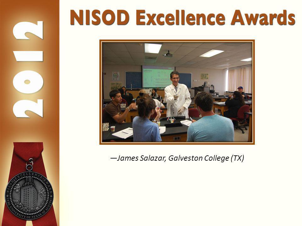 James Salazar, Galveston College (TX)