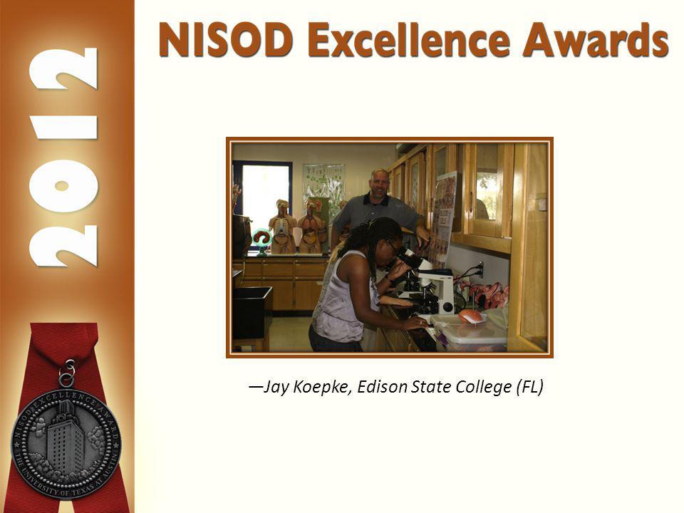 Jay Koepke, Edison State College (FL)