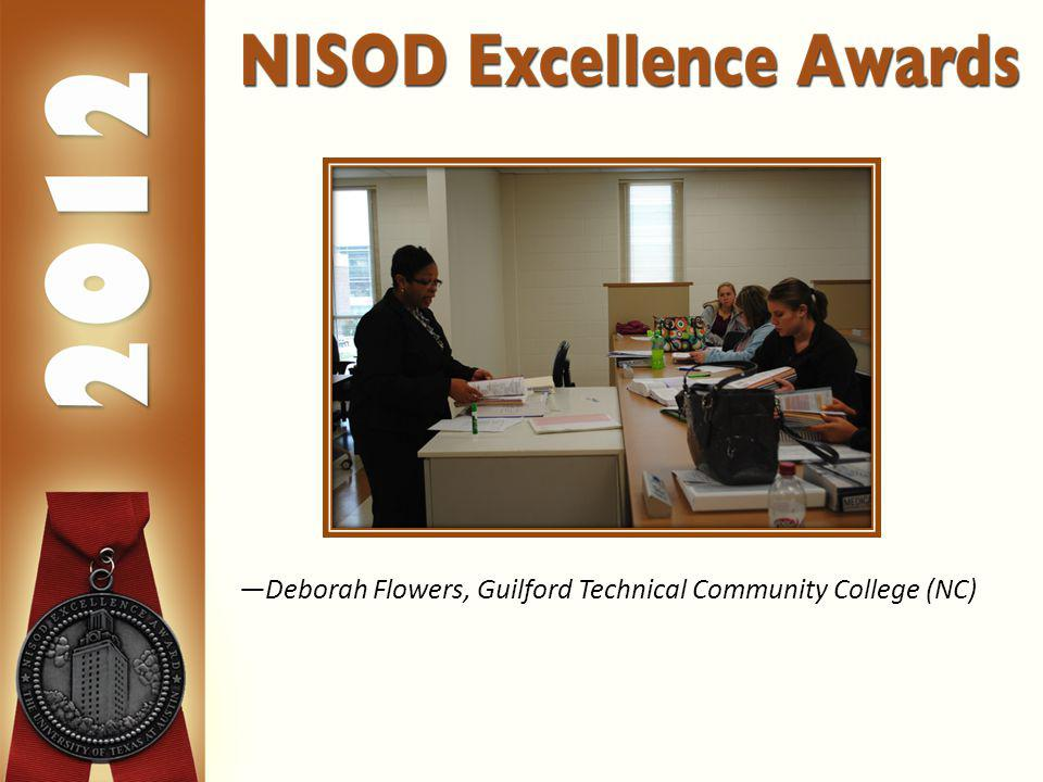 Deborah Flowers, Guilford Technical Community College (NC)