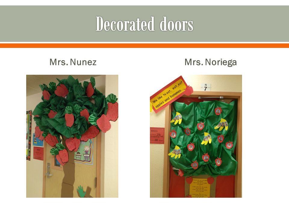 Mrs. NunezMrs. Noriega
