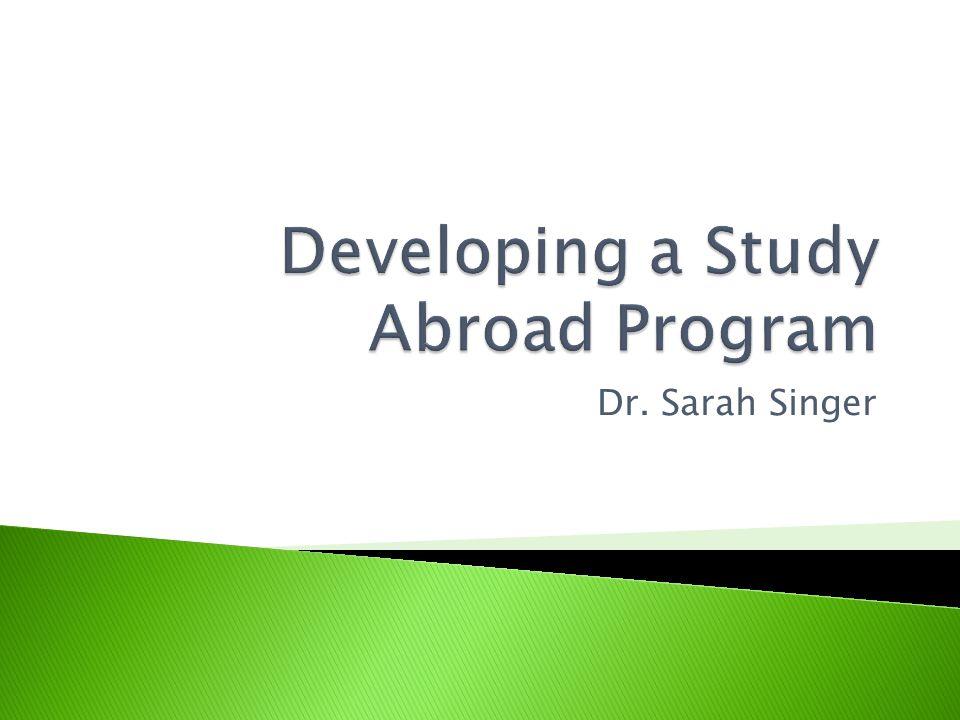 Dr. Sarah Singer