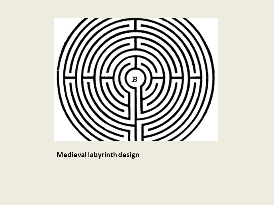 Medieval labyrinth design
