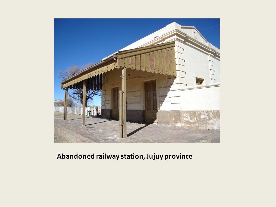 Abandoned railway station, Jujuy province