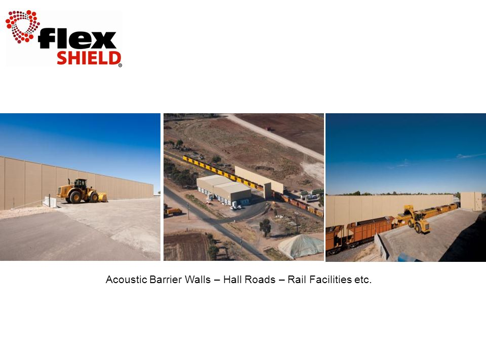 Acoustic Barrier Walls – Hall Roads – Rail Facilities etc.