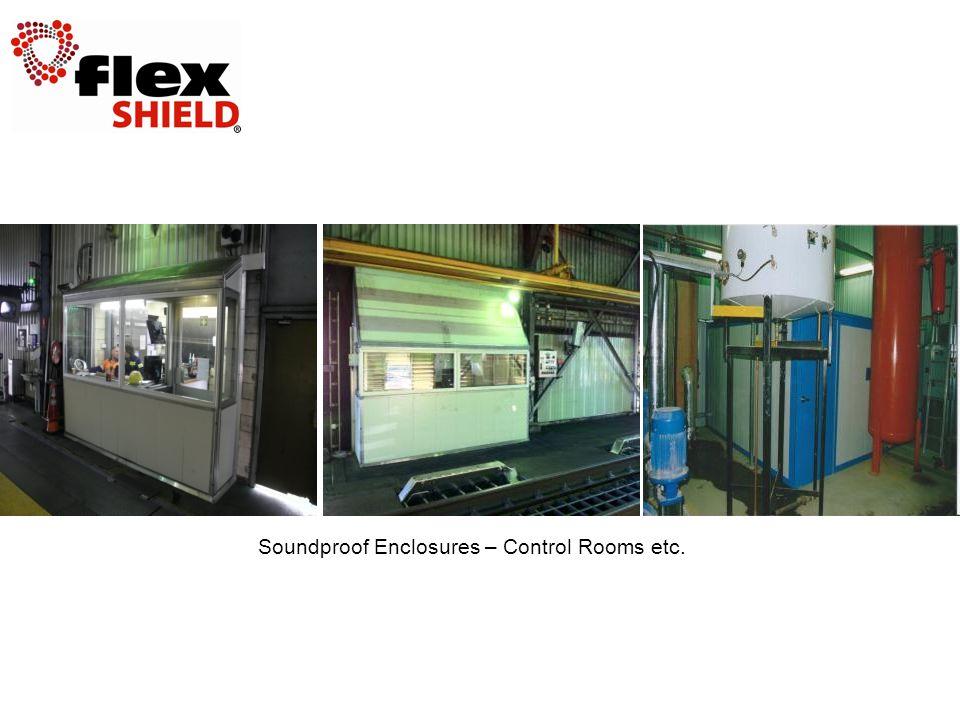 Soundproof Enclosures – Control Rooms etc.