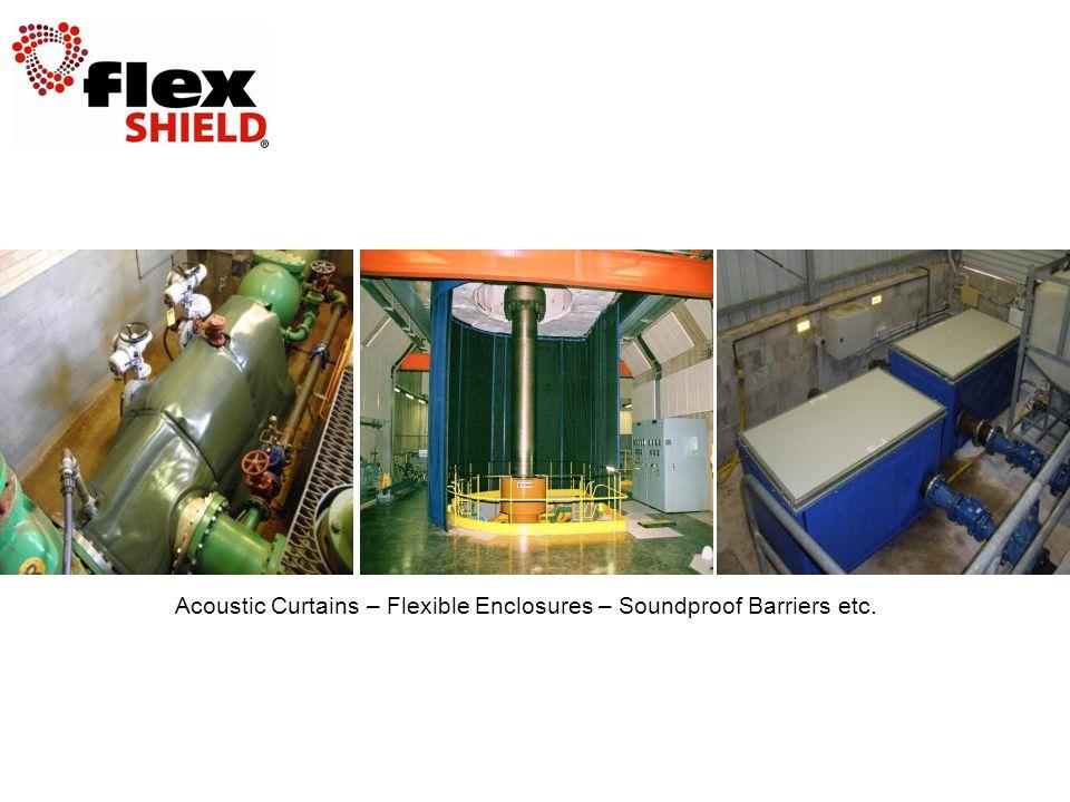 Acoustic Curtains – Flexible Enclosures – Soundproof Barriers etc.