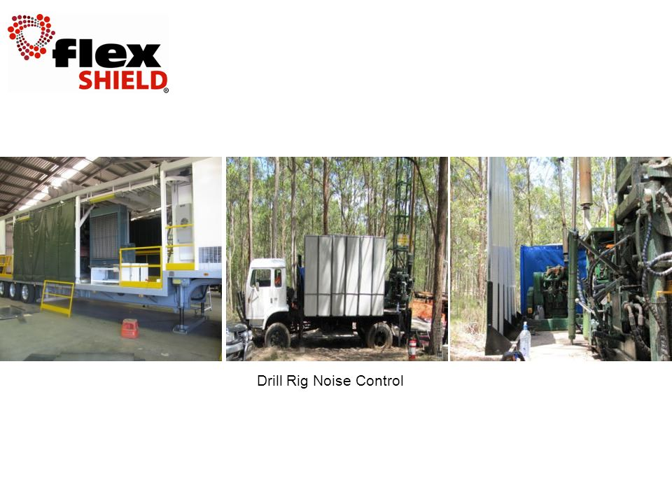 Drill Rig Noise Control