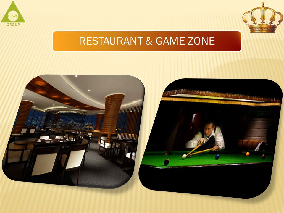 RESTAURANT & GAME ZONE