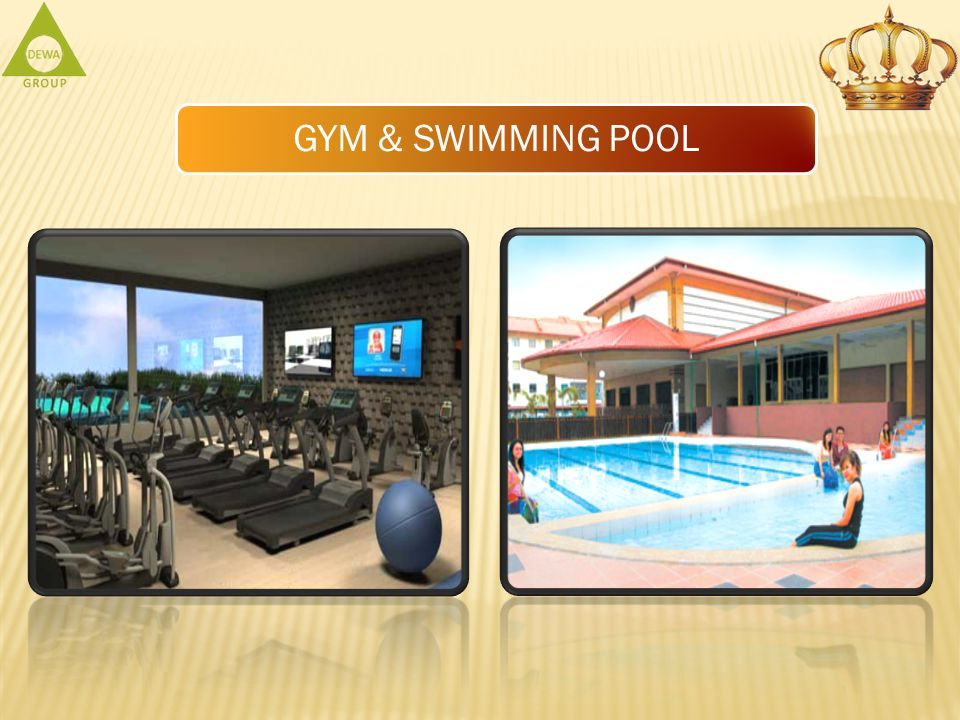 GYM & SWIMMING POOL