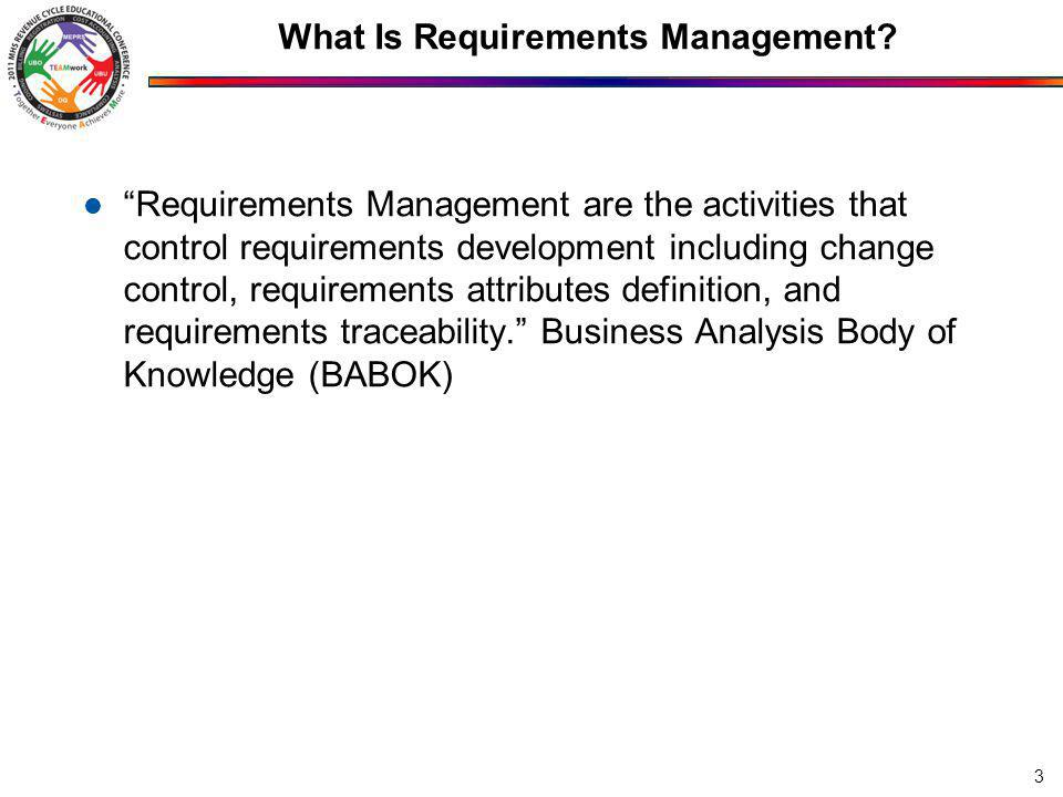 What Is Requirements Management.