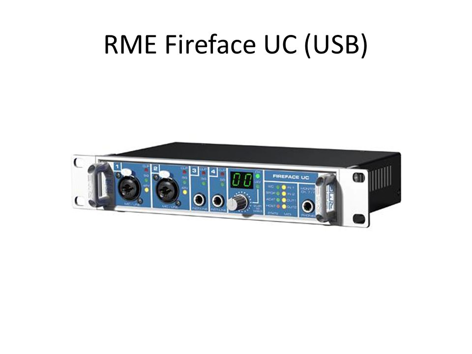 RME Fireface UC (USB)