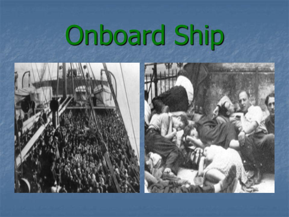 Onboard Ship