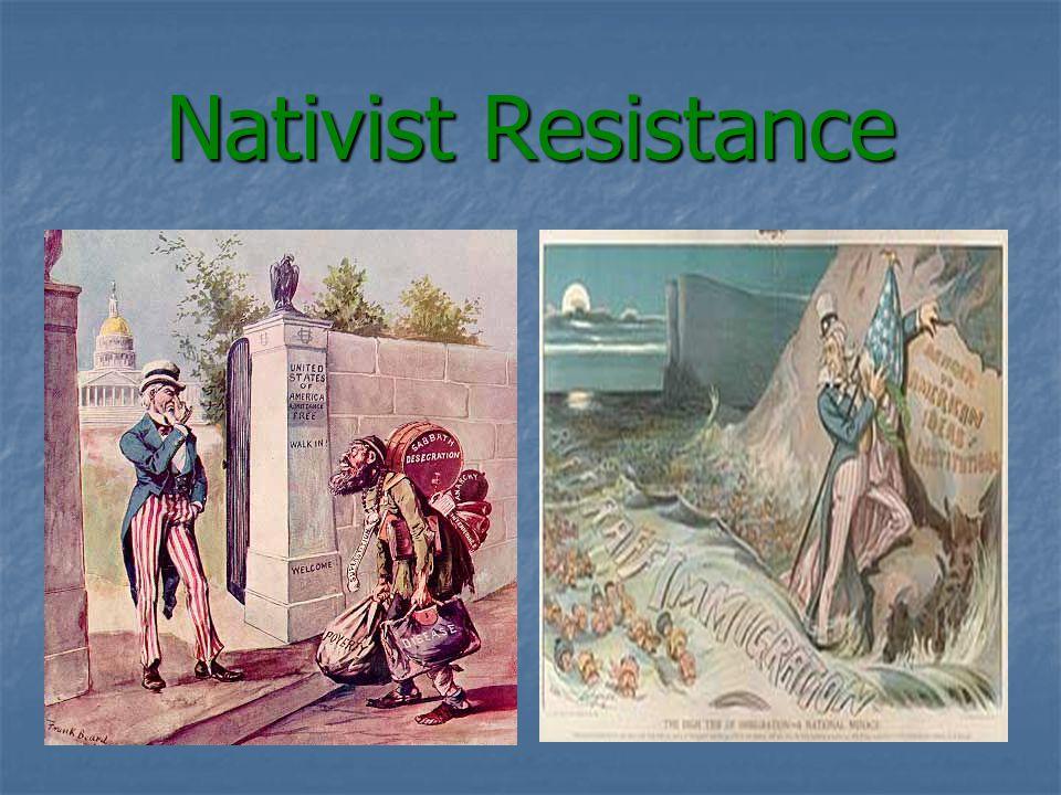 Nativist Resistance