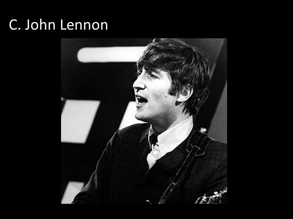 C. John Lennon