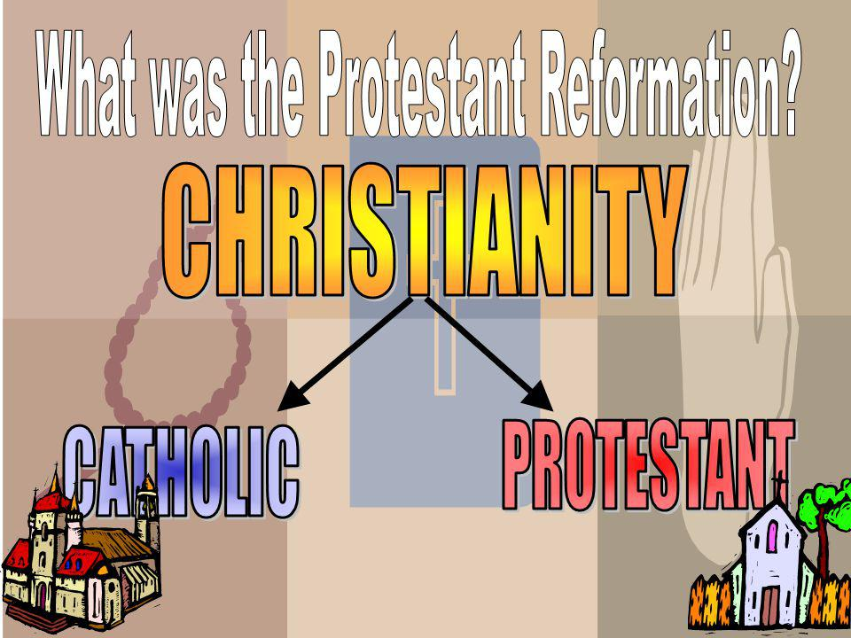 In the end the reformers, like Luther, established their own religions The Reformation caused a split in Christianity with the formation of these new Protestant religions