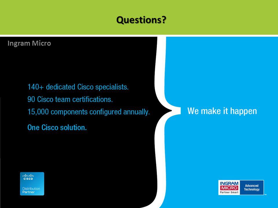 Questions? Ingram Micro