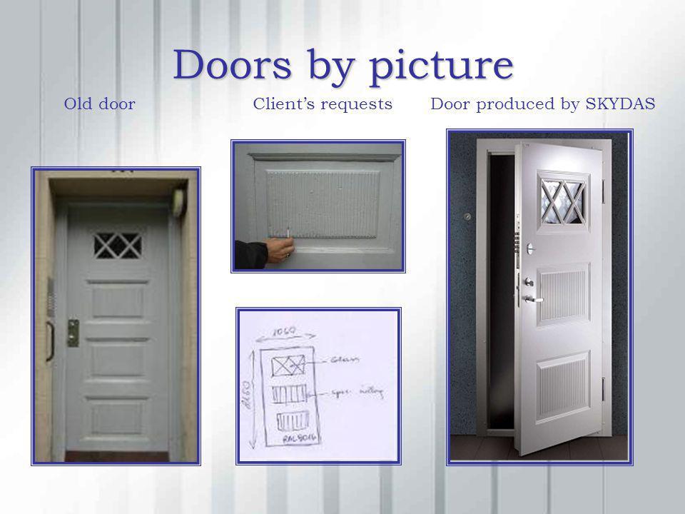 Doors by picture Old doorClients requestsDoor produced by SKYDAS
