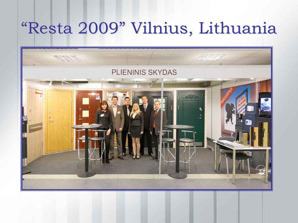Resta 2009 Vilnius, Lithuania
