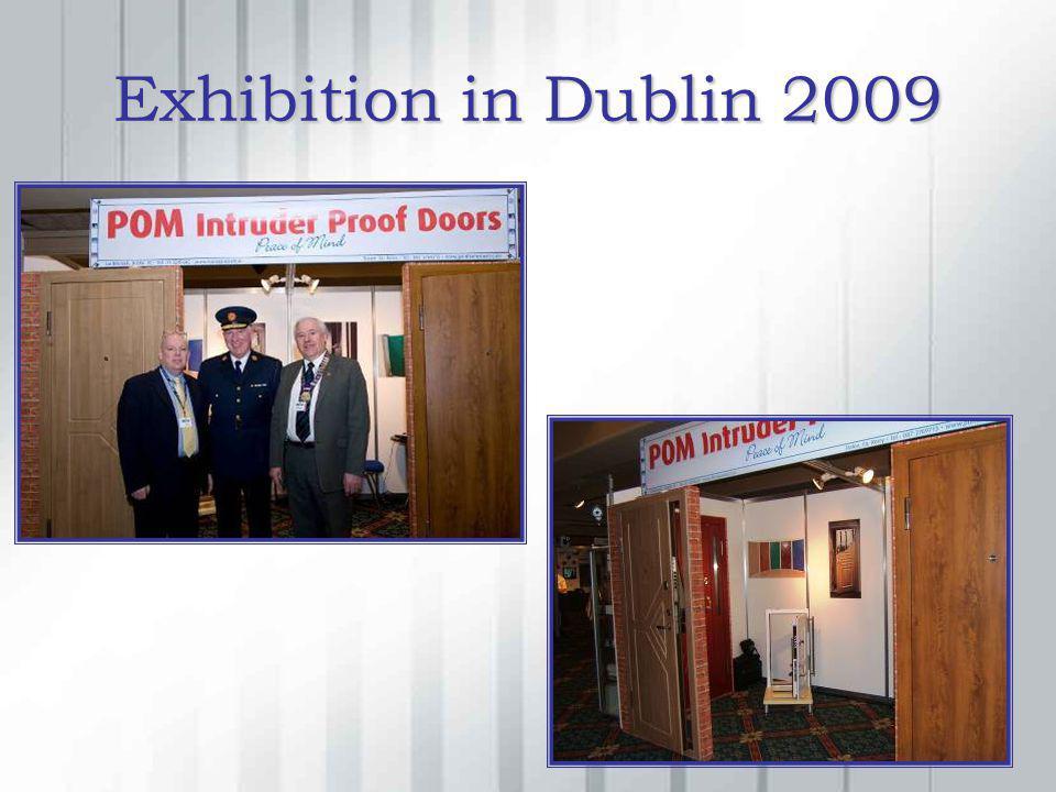 Exhibition in Dublin 2009