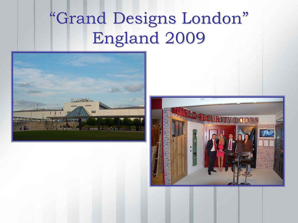 Grand Designs London England 2009