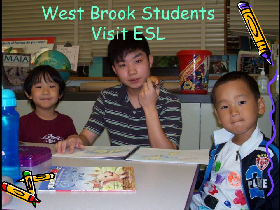 West Brook Students Visit ESL