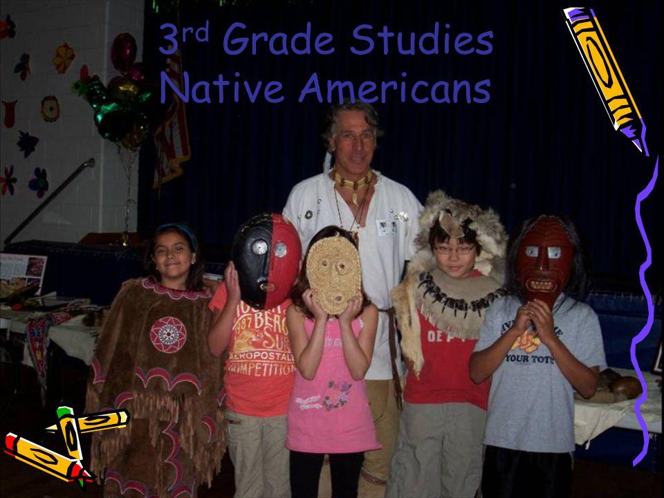 3 rd Grade Studies Native Americans