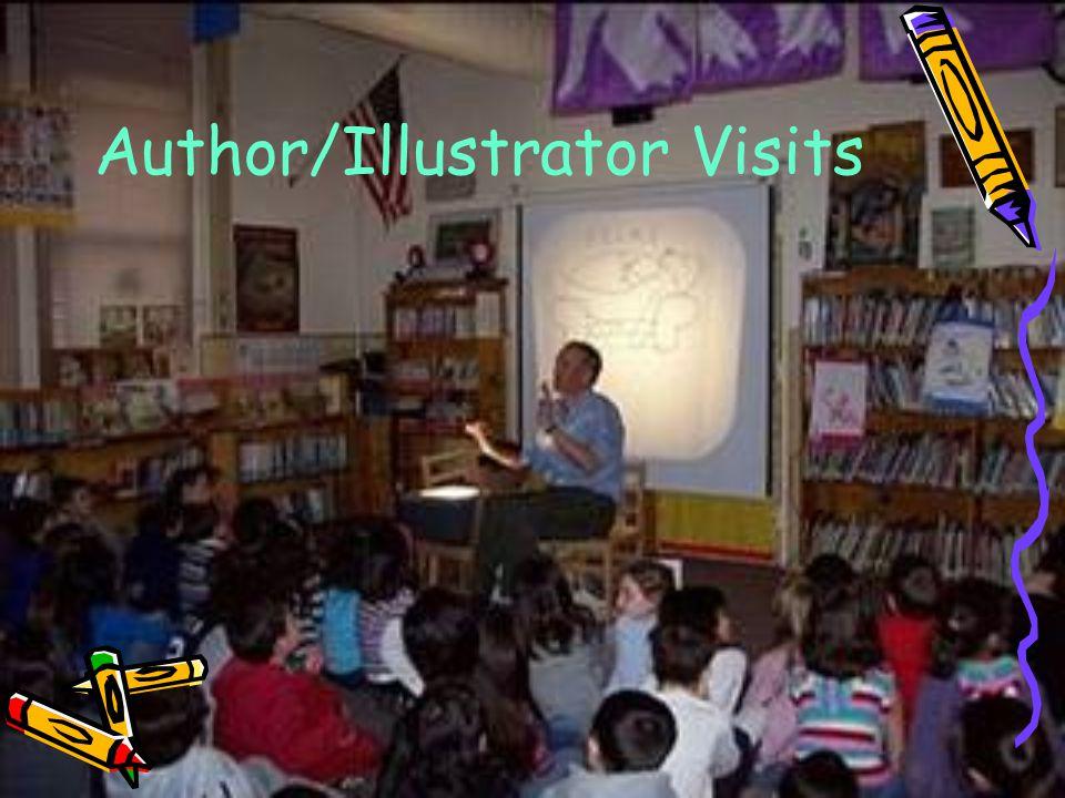 Author/Illustrator Visits