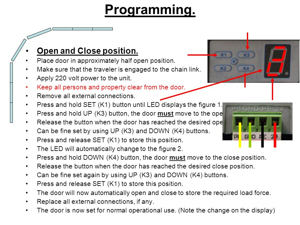 Receiver 12-24V Neg.12-24V Pos. Common. N/O N/C External Receiver Connection.