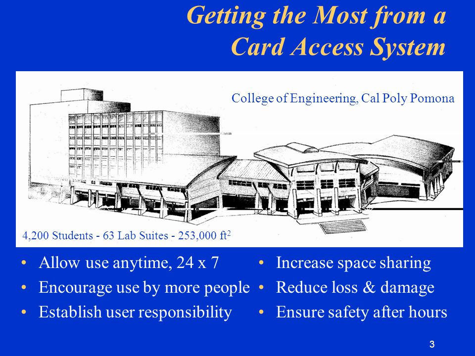 4 What Can an Access System Do.