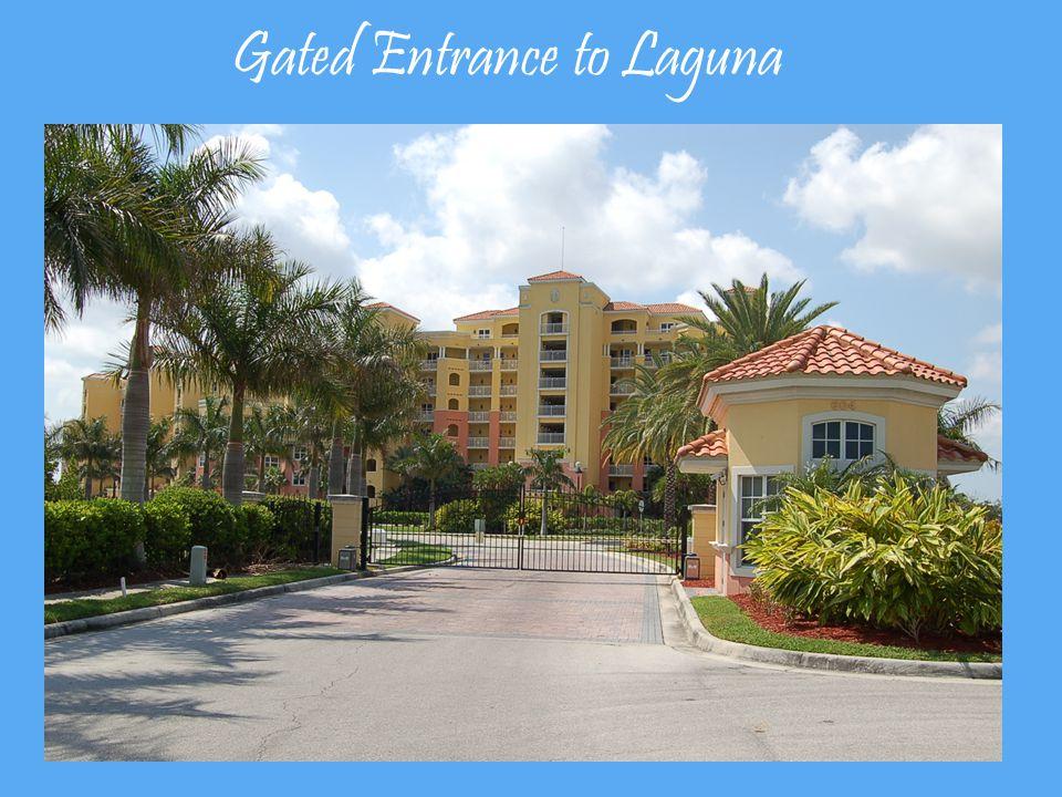 Gated Entrance to Laguna