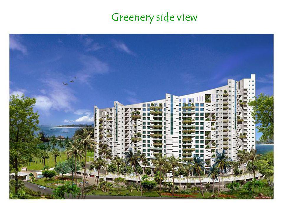 Greenery side view