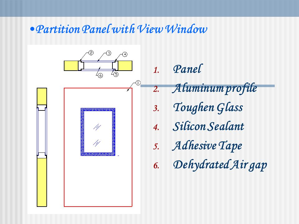 Partition Panel with inbuilt Riser FEATURES Double skin / single skin Puf Density 40 Kg/ m3 SS/SS, PCGI/PCGI, SS/ PCGI Up to 6 meter long panels avail