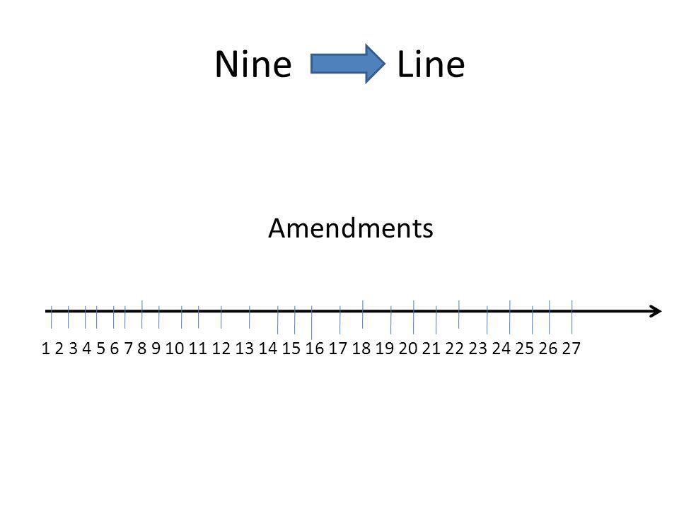 Nine Line Amendments 1 2 3 4 5 6 7 8 9 10 11 12 13 14 15 16 17 18 19 20 21 22 23 24 25 26 27
