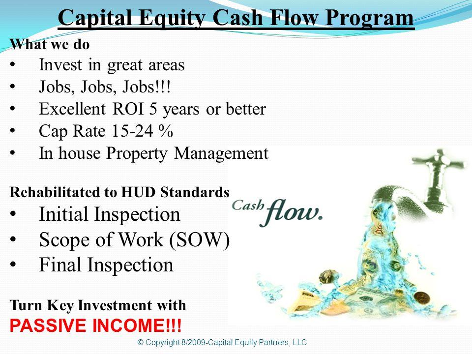 © Copyright 8/2009-Capital Equity Partners, LLC Rent Ready!!! 5103 E. 40 th Street Kansas City, MO