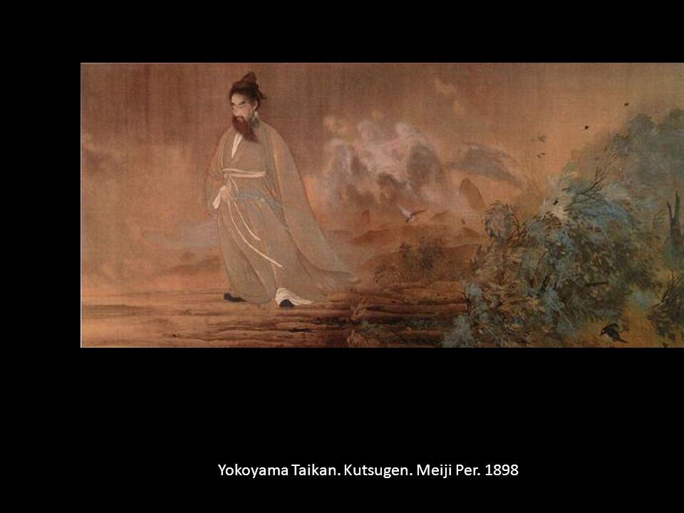 Yokoyama Taikan. Kutsugen. Meiji Per. 1898