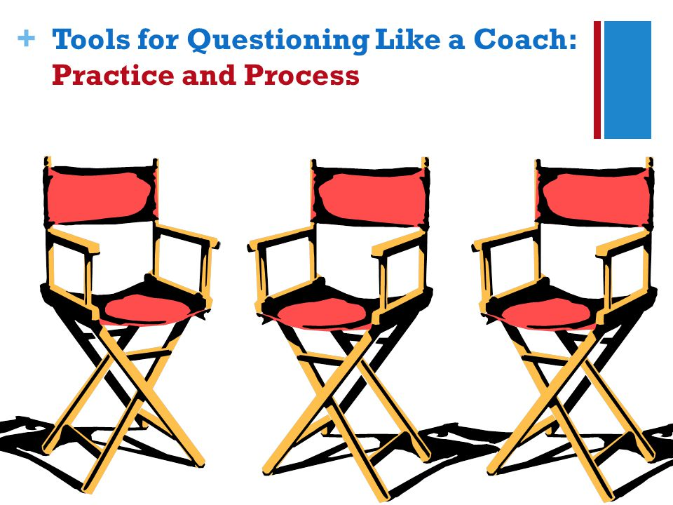 + Tools for Questioning Like a Coach: Practice and Process