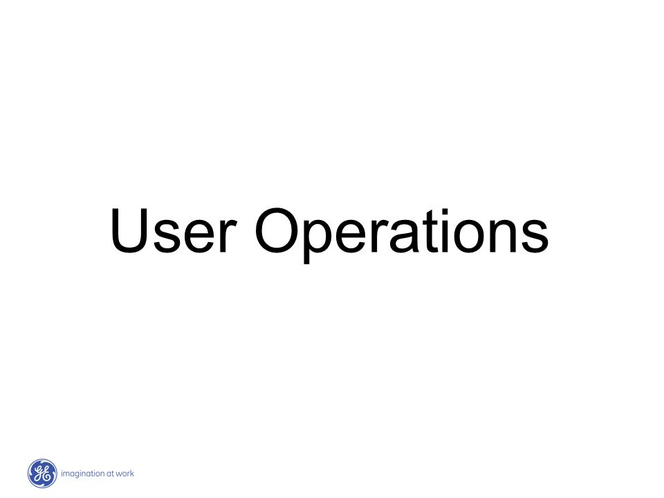 User Operations