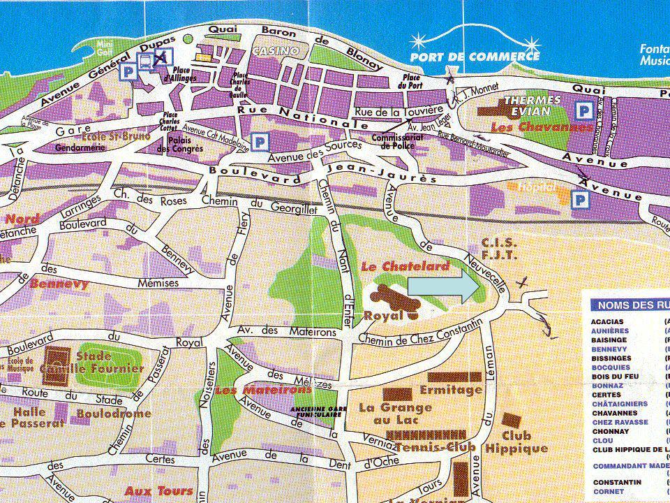 Evian Les Bains: A Tourist Attraction.