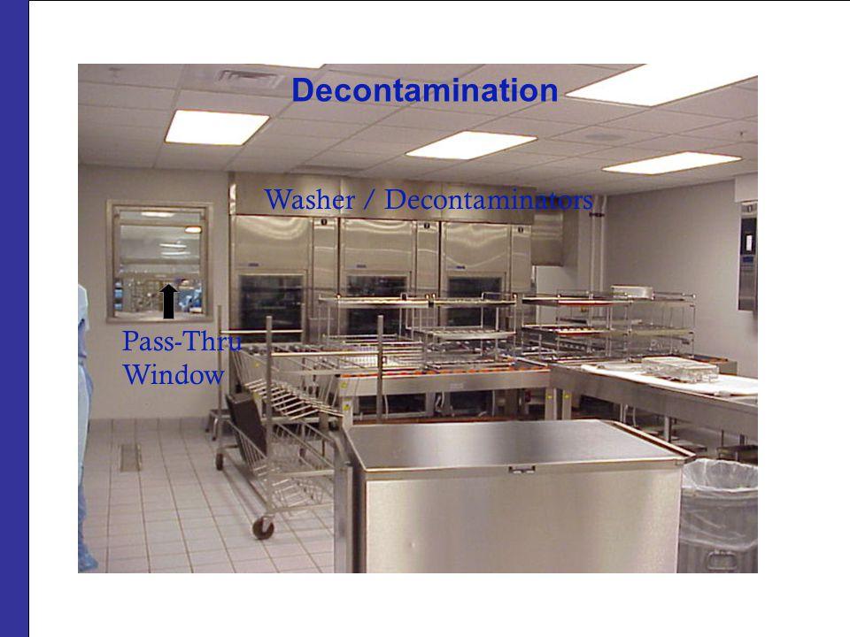 Decontamination Washer / Decontaminators Pass-Thru Window