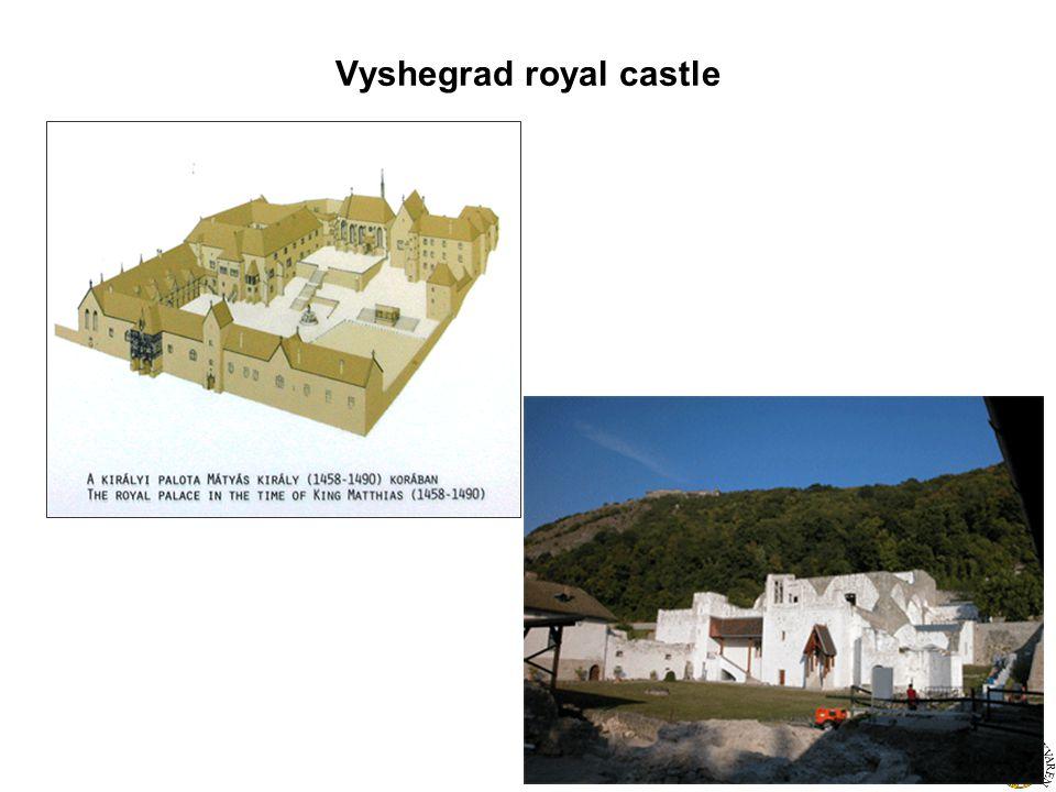 Vyshegrad royal castle