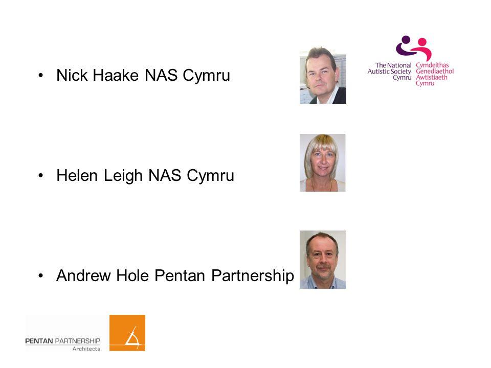 Nick Haake NAS Cymru Helen Leigh NAS Cymru Andrew Hole Pentan Partnership