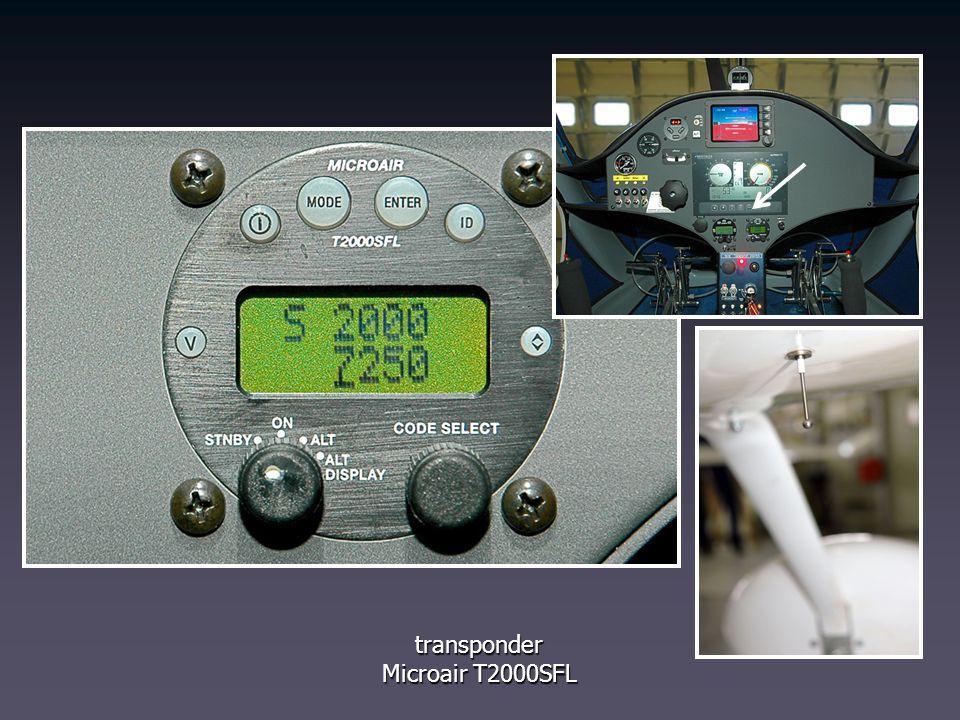 transponder Microair T2000SFL