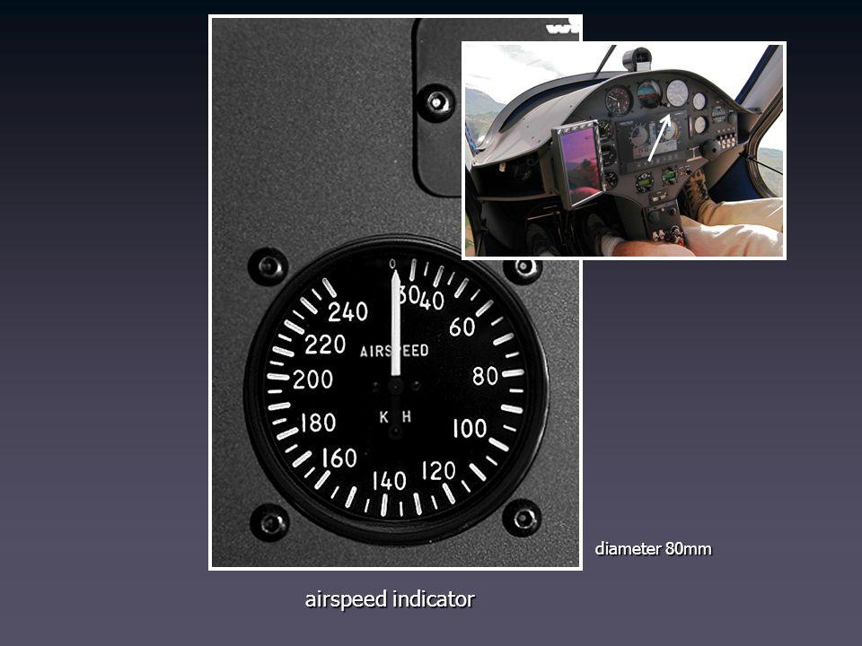 airspeed indicator diameter 80mm