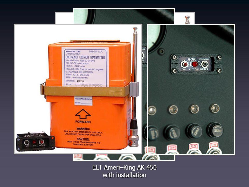 ELT Ameri–King AK 450 with installation