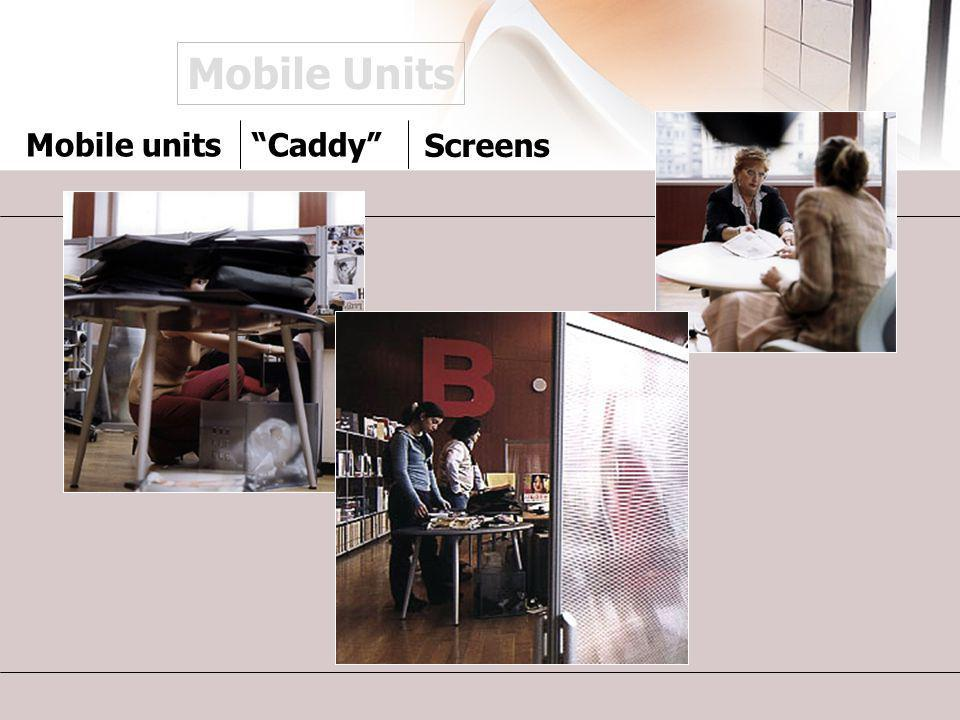 Mobile Units Mobile unitsCaddy Screens