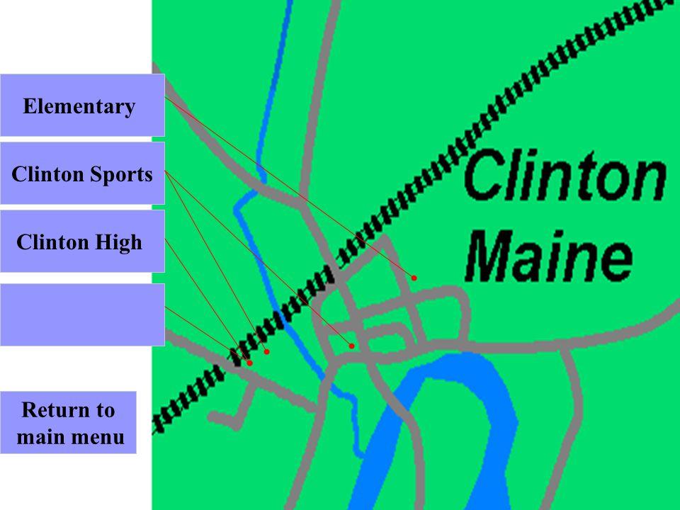Return to main menu Clinton High Clinton Sports Elementary